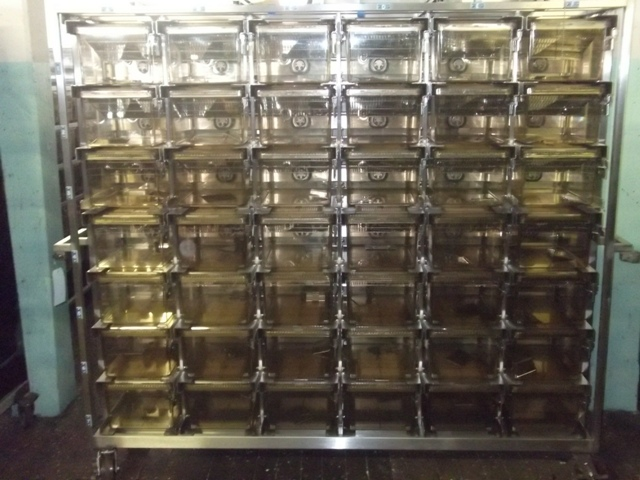 Allentown 42 Cage Rat Vent Rack with auto watering by