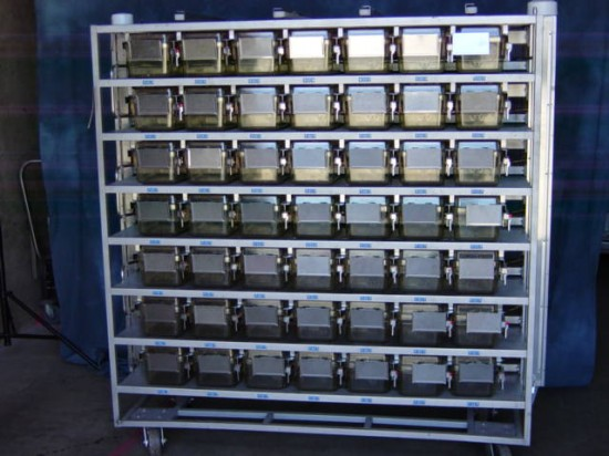 98 Cage Allentown Ventilated Mouse Rack By Allentown